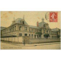 carte postale ancienne 76 ELBEUF. Ecole Fénelon 1908