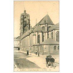 carte postale ancienne 76 ELBEUF. Eglise Saint-Jean Abside