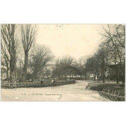 carte postale ancienne 76 LE HAVRE. 1906 Square Saint-Roch