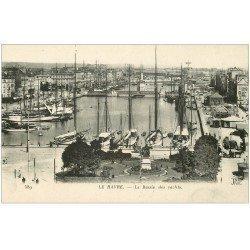 carte postale ancienne 76 LE HAVRE. Bassin des Yachts