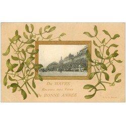 carte postale ancienne 76 LE HAVRE. Bonne Année