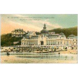 carte postale ancienne 76 LE HAVRE. Casino Marie-Christine 1913