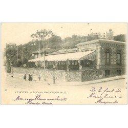 carte postale ancienne 76 LE HAVRE. Casino Marie-Christine. Destination Russie vers 1900
