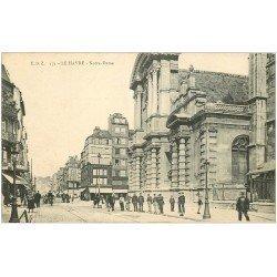 carte postale ancienne 76 LE HAVRE. Eglise Notre-Dame