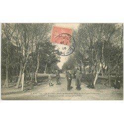 carte postale ancienne 76 LE HAVRE. Forêt de Montjeon 1906