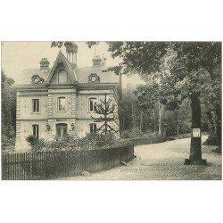 carte postale ancienne 76 LE HAVRE. Forêt de Montjeon Pavillon des Gardes