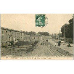 carte postale ancienne 76 LE HAVRE. Fort de Tourneville Rue Abbaye 1908