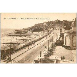 carte postale ancienne 76 LE HAVRE. Hève, Falaise et Casino