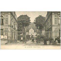 carte postale ancienne 76 LE HAVRE. Hôpital Pasteur vers 1900