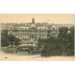 carte postale ancienne 76 LE HAVRE. Hôtel de Ville 1914