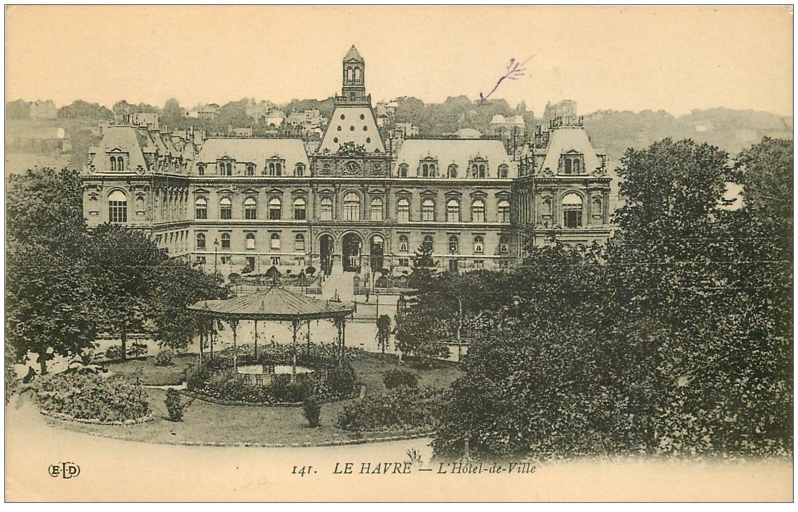 76 le havre h tel de ville 1914 for Boutique hotel le havre