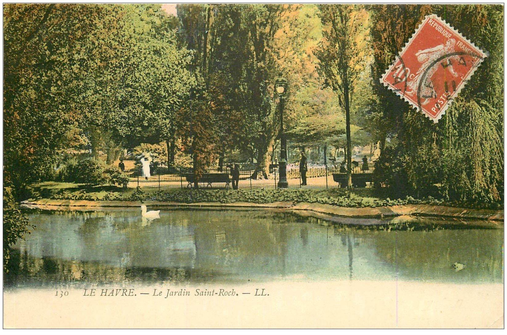 76 le havre jardin saint roch 1913 for Jardin japonais le havre
