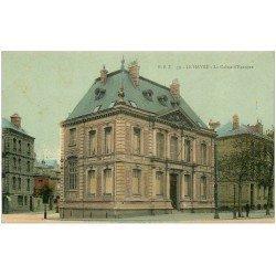 carte postale ancienne 76 LE HAVRE. La Caisse d'Epargne 1912