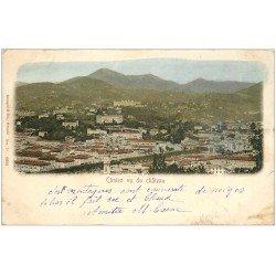 carte postale ancienne 06 CIMIEZ vu du Château vers 1903