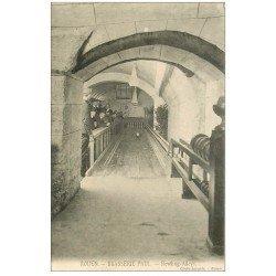 carte postale ancienne 76 ROUEN. Bowling Alleys Brasserie Paul 1911