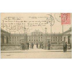 carte postale ancienne 76 ROUEN. Caserne Pélissier 1904