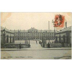 carte postale ancienne 76 ROUEN. Caserne Pélissier 1910