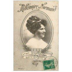 carte postale ancienne 76 ROUEN. Chanu Reine des Halles 1911