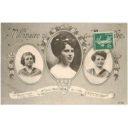 carte postale ancienne 76 ROUEN. Charu Reine des Halles 1911 Legris et Sennard