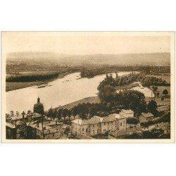 carte postale ancienne 01 TREVOUX. La Saône