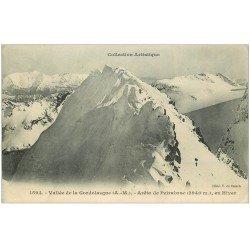 carte postale ancienne 06 GORDOLASQUE. Vallée et Arête de Peirabroc