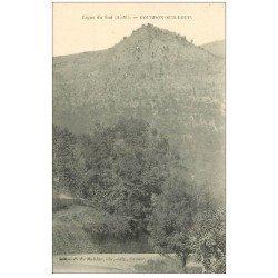 carte postale ancienne 06 GOURDON SUR LOUP. Ligne du Sud
