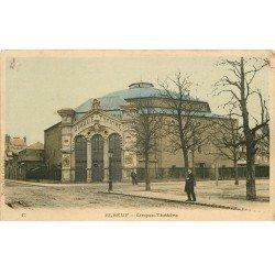 carte postale ancienne 76 ELBEUF. Cirque Théâtre