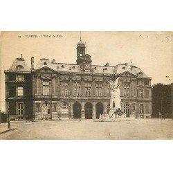 carte postale ancienne 76 ELBEUF. Hôtel de Ville