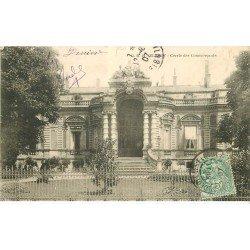 carte postale ancienne 76 ELBEUF. Cercle des Commerçant 1907