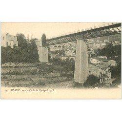 carte postale ancienne 06 GRASSE. Le Ravin du Rossignol. Fleublanterie Dozol vers 1900...