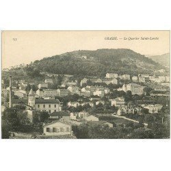 carte postale ancienne 06 GRASSE. Quartier Sainte-Lorette