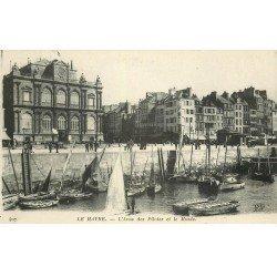 carte postale ancienne 76 LE HAVRE. Anse des Pilotes et Musée