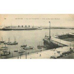 carte postale ancienne 76 LE HAVRE. Avant-Port