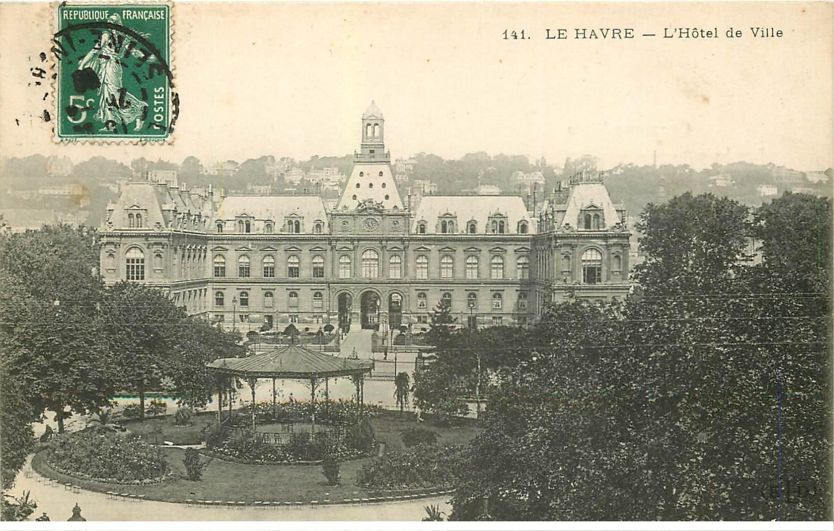 76 Le Havre H Tel De Ville 1908