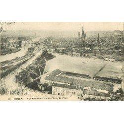 carte postale ancienne 76 ROUEN. Champ de Mars 1914
