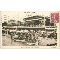 carte postale ancienne 06 JUAN-LES-PINS. Le Casino vers 1930