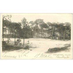 carte postale ancienne 06 JUAN-LES-PINS. Sous Bois 1903