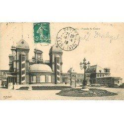 carte postale ancienne 76 DIEPPE. Casino 1910 façade