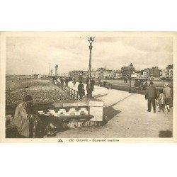 carte postale ancienne 76 DIEPPE. Boulevard Maritime 292