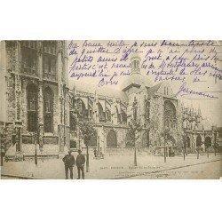 carte postale ancienne 76 DIEPPE. Eglise Saint-Jacques 1903