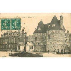 carte postale ancienne 76 DIEPPE. Deux vieilles Tours 1910