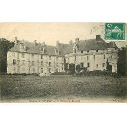 carte postale ancienne 76 FECAMP. Château de Valmont