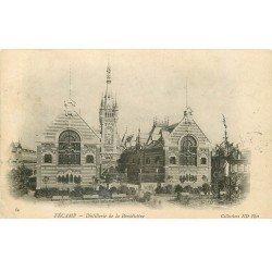 carte postale ancienne 76 FECAMP. Bénédictine Distillerie 1903