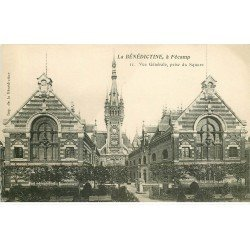 carte postale ancienne 76 FECAMP. Bénédictine Square