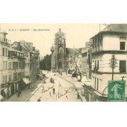 carte postale ancienne 76 ELBEUF. Rue Saint-Jean 1909