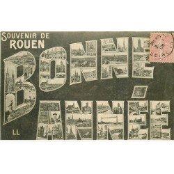 carte postale ancienne 76 ROUEN. Bonne Année 1905