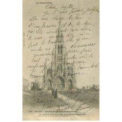 carte postale ancienne 76 ROUEN. Chapelle Notre-Dame du Bon-Secours 1903