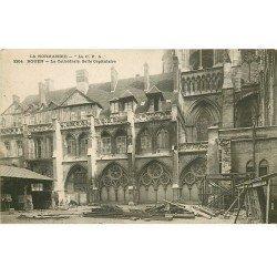 carte postale ancienne 76 ROUEN. Cathédrale Salle Capitulaire 1905