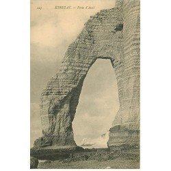 carte postale ancienne 76 ETRETAT. Porte d'Aval