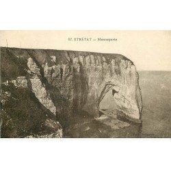 carte postale ancienne 76 ETRETAT. La Maneporte